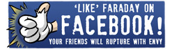 'Like' Faraday on Facebook!